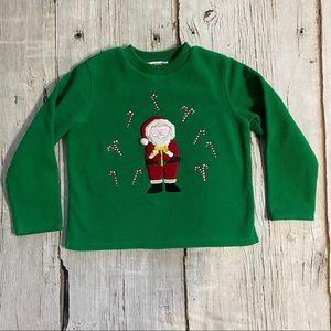 Christie Brooks Santa Fleece Sweatshirt
